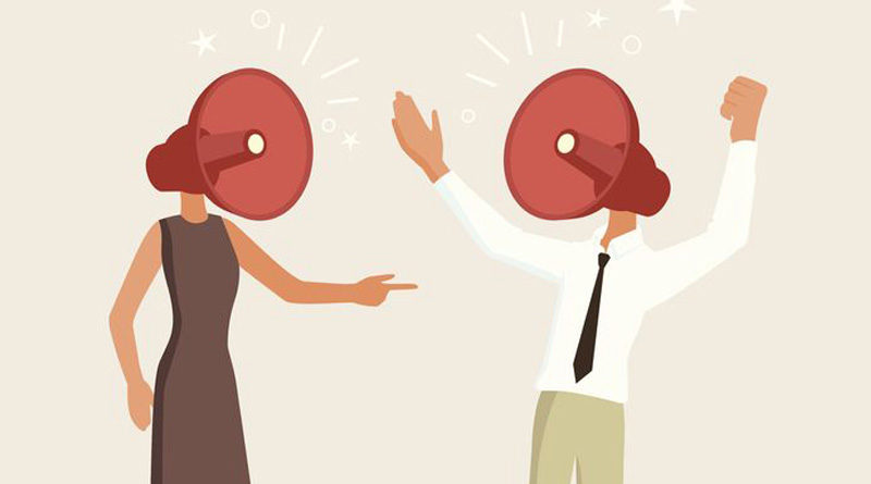 unhealthy argument destroys relationship
